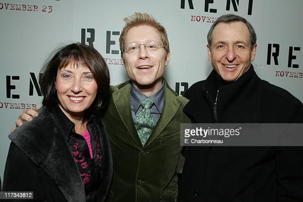 Madeleine Sherak Anthony Rapp and Exec Producer Tom Sherak