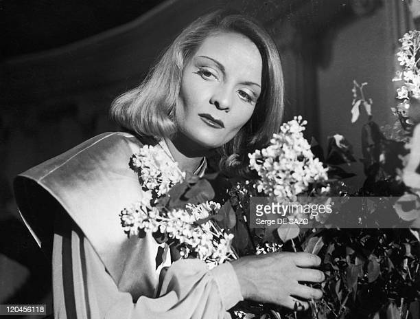 Madeleine Sologne in 1946 French actress