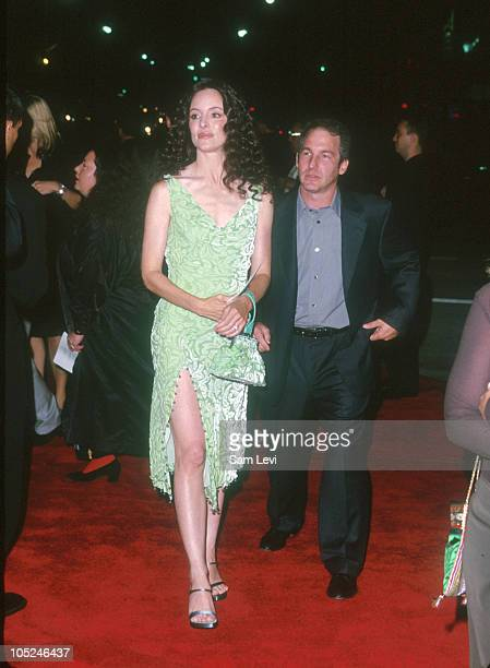 Madeleine Stowe and Brian Benben during Fight Club Los Angeles Premiere at Mann's Village Theater in Westwood California United States