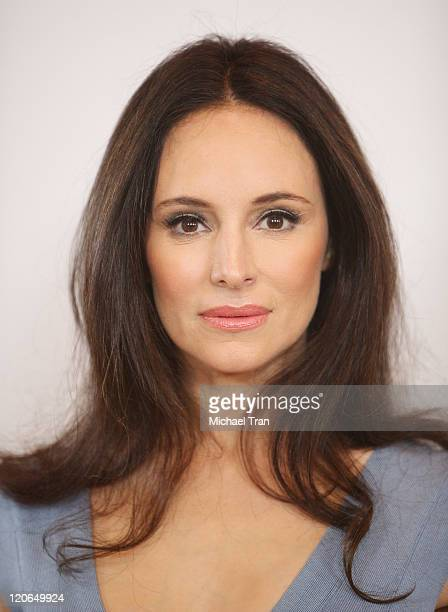 Madeleine Stowe arrives at the 2011 TCA Summer Press Tour Disney ABC Television Group held at The Beverly Hilton hotel on August 7 2011 in Beverly...