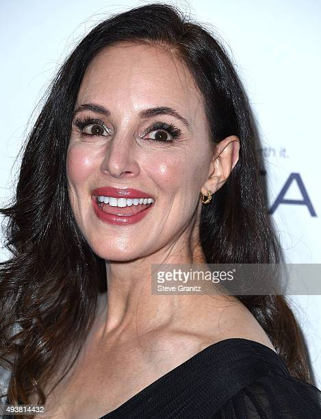 Madeleine Stowe arrives at the 22nd Annual ELLE Women In Hollywood Awards at Four Seasons Hotel Los Angeles at Beverly Hills on October 19 2015 in...