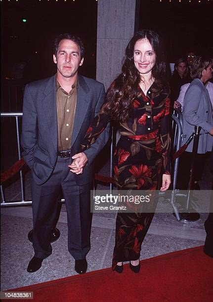 "Madeleine Stowe & Brian Benben during ""Seven Years in Tibet"" Los Angeles Premiere at Cineplex Odeon Century Plaza Cinema in Century City, California,..."