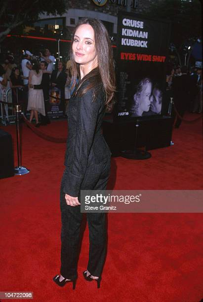 Madeleine Stowe during Eyes Wide Shut Los Angeles Premiere at Mann Village Theatre in Westwood California United States