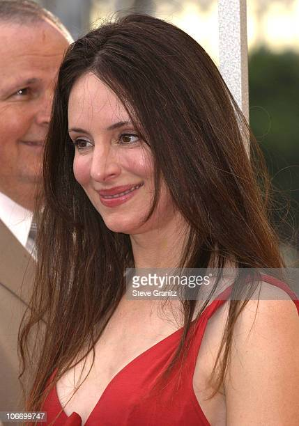 Madeleine Stowe during Kevin Costner Honored with a Star on the Hollywood Walk of Fame for His Achievements in Film at Hollywood Blvd in Hollywood...