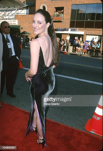 Madeleine Stowe during The General's Daughter Los Angeles Premiere at Mann National Theatre in Westwood California United States