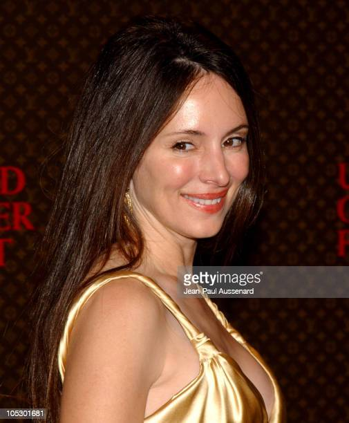 Madeleine Stowe during The Louis Vuitton United Cancer Front Gala - Arrivals at Private Residence in Holmby Hills, California, United States.