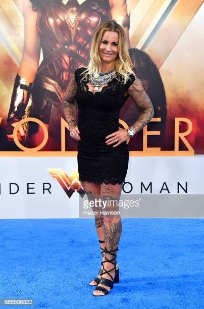 Madeleine Vall Beijner attends the Premiere Of Warner Bros Pictures' Wonder Woman at the Pantages Theatre on May 25 2017 in Hollywood California