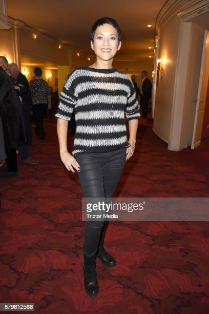 Madeleine Wehle attends the premiere of 'Gayle Tufts Very Christmas' on November 26 2017 in Berlin Germany