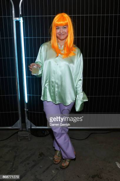 Madeliene Ostlie attends Browns east launch party at 1a Chance Street on November 1 2017 in London England