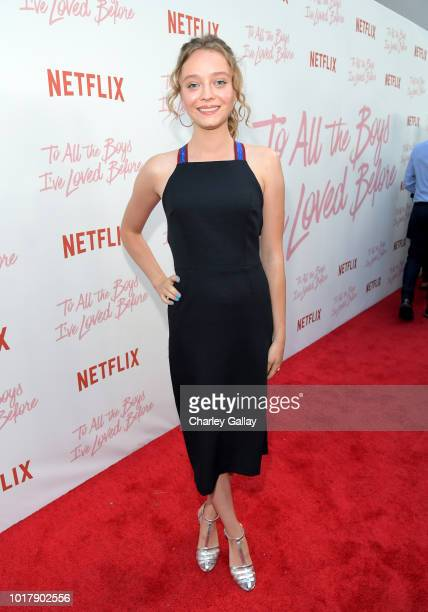 Madeline Arthur attends Netflix's 'To All the Boys I've Loved Before' Los Angeles Special Screening at Arclight Cinemas Culver City on August 16 2018...