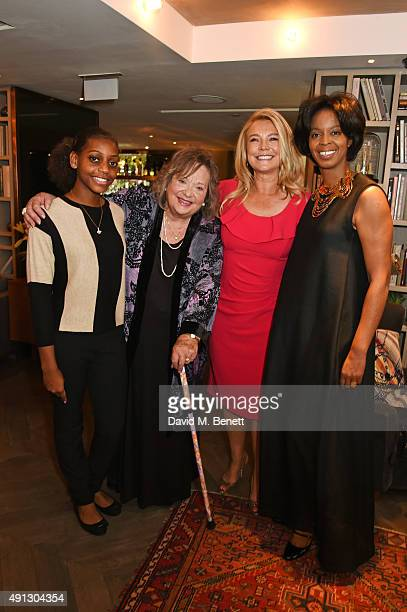 Madeline Bafaku Sylvia Syms Amanda Redman and Voice of a Woman founder and CEO Maureen Bryan attend the Voice Of A Woman Awards at the Belgraves...