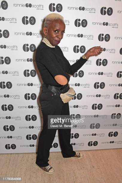 Madeline Bell attends A Night At Ronnie Scotts 60th Anniversary Gala at the Royal Albert Hall on October 30 2019 in London England