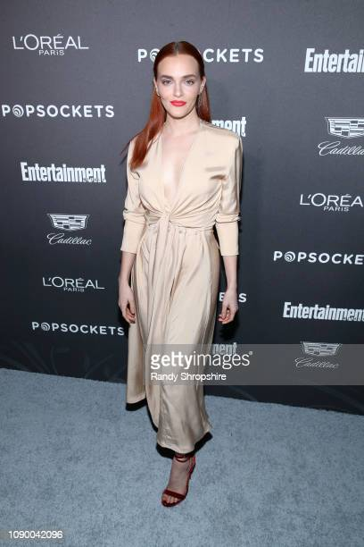 Madeline Brewer attends Entertainment Weekly Celebrates Screen Actors Guild Award Nominees sponsored by L'Oreal Paris Cadillac And PopSockets at...