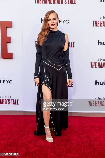 """Madeline Brewer attends Hulu's """"The Handmaid's Tale"""" Celebrates Season 3 Finale at Regency Village Theatre on August 06, 2019 in Westwood, California."""