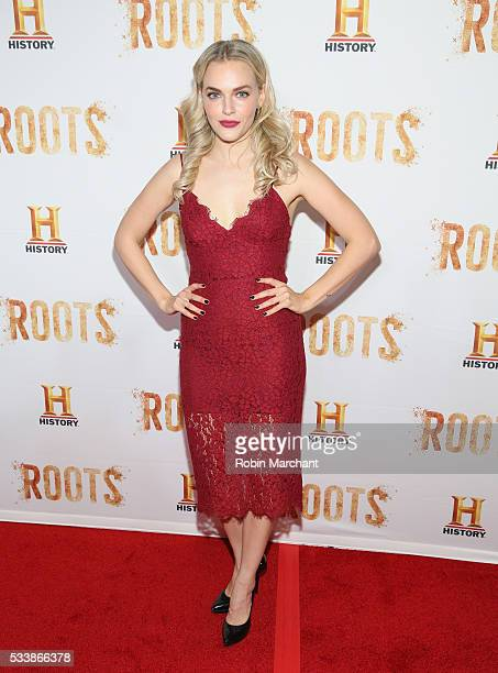 Madeline Brewer attends 'Roots' Night One Screening at Alice Tully Hall Lincoln Center on May 23 2016 in New York City