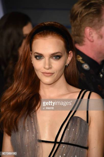 Madeline Brewer attends the 2018 Vanity Fair Oscar Party hosted by Radhika Jones at the Wallis Annenberg Center for the Performing Arts on March 4...