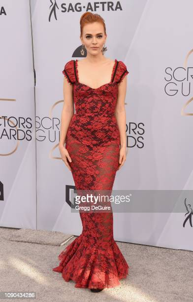 Madeline Brewer attends the 25th Annual Screen ActorsGuild Awards at The Shrine Auditorium on January 27 2019 in Los Angeles California 480645