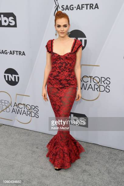 Madeline Brewer attends the 25th Annual Screen ActorsGuild Awards at The Shrine Auditorium on January 27 2019 in Los Angeles California 480568