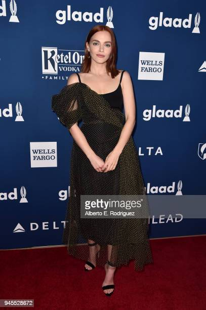 Madeline Brewer attends the 29th Annual GLAAD Media Awards at The Beverly Hilton Hotel on April 12 2018 in Beverly Hills California