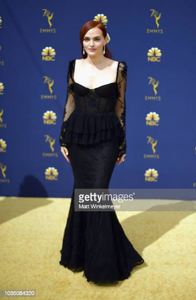 Madeline Brewer attends the 70th Emmy Awards at Microsoft Theater on September 17 2018 in Los Angeles California