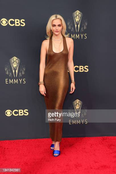 Madeline Brewer attends the 73rd Primetime Emmy Awards at L.A. LIVE on September 19, 2021 in Los Angeles, California.