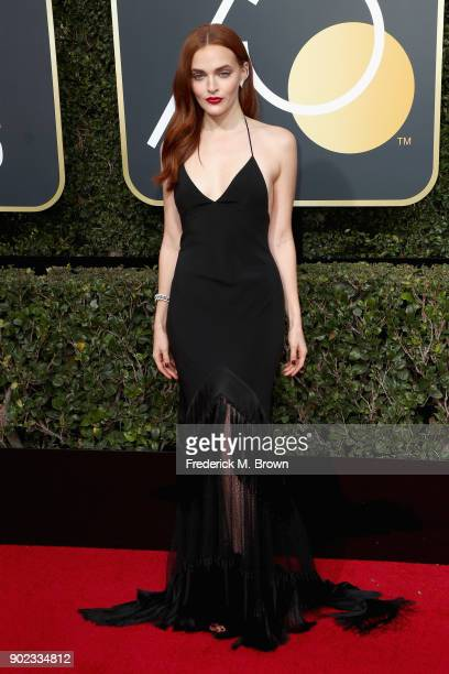 Madeline Brewer attends The 75th Annual Golden Globe Awards at The Beverly Hilton Hotel on January 7 2018 in Beverly Hills California