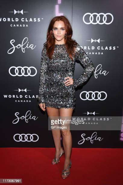 Madeline Brewer attends the Audi Canada Sofia and World Class postscreening event for Hustlers during the Toronto International Film Festival at...