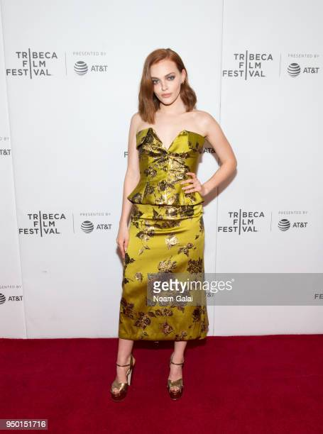 Madeline Brewer attends the 'Braid' screening during the 2018 Tribeca Film Festival at Cinepolis Chelsea on April 22 2018 in New York City