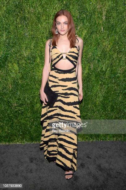Madeline Brewer attends the CFDA / Vogue Fashion Fund 15th Anniversary Event at Brooklyn Navy Yard on November 5 2018 in Brooklyn New York