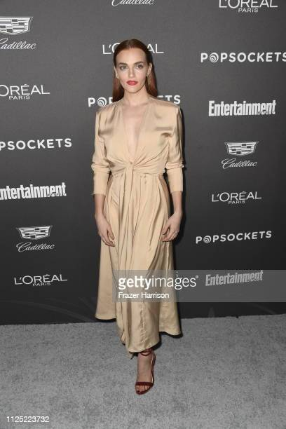 Madeline Brewer attends the Entertainment Weekly PreSAG Party at Chateau Marmont on January 26 2019 in Los Angeles California