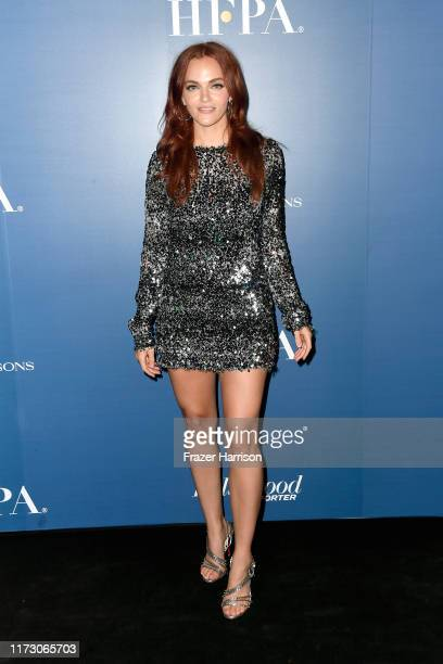 Madeline Brewer attends the HFPA/THR TIFF PARTY during the 2019 Toronto International Film Festival at Four Seasons Hotel on September 07 2019 in...