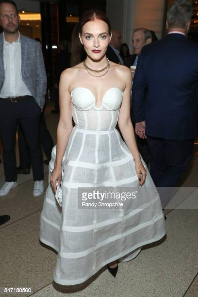 Madeline Brewer attends The Hollywood Reporter and SAGAFTRA Inaugural Emmy Nominees Night presented by American Airlines Breguet and Dacor at the...