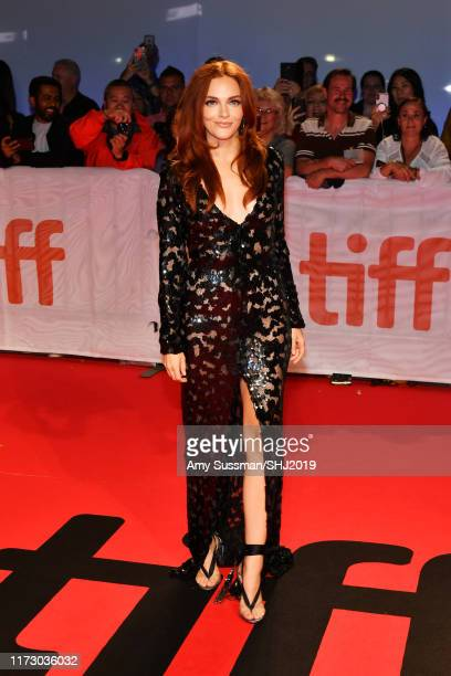 Madeline Brewer attends the Hustlers premiere during the 2019 Toronto International Film Festival at Roy Thomson Hall on September 07 2019 in Toronto...