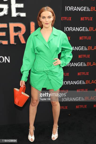 Madeline Brewer attends the Orange is the New Black final season world premiere at Alice Tully Hall Lincoln Center on July 25 2019 in New York City