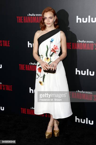 Madeline Brewer attends the premiere of Hulu's 'The Handmaid's Tale' Season 2 at TCL Chinese Theatre on April 19 2018 in Hollywood California