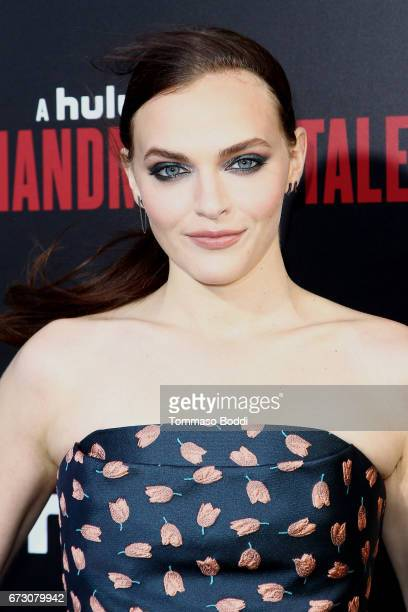 Madeline Brewer attends the Premiere Of Hulu's 'The Handmaid's Tale' at ArcLight Cinemas Cinerama Dome on April 25 2017 in Hollywood California