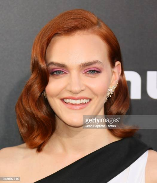 Madeline Brewer attends the premiere of Hulu's 'The Handmaid's Tale' on April 19 2018 in Hollywood California