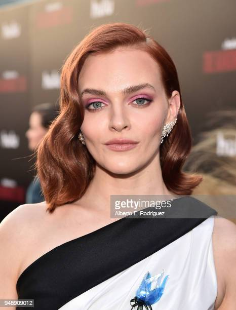 Madeline Brewer attends the season 2 premiere of Hulu's 'The Handmaid's Tale' at the TCL Chinese Theatre on April 19 2018 in Hollywood California