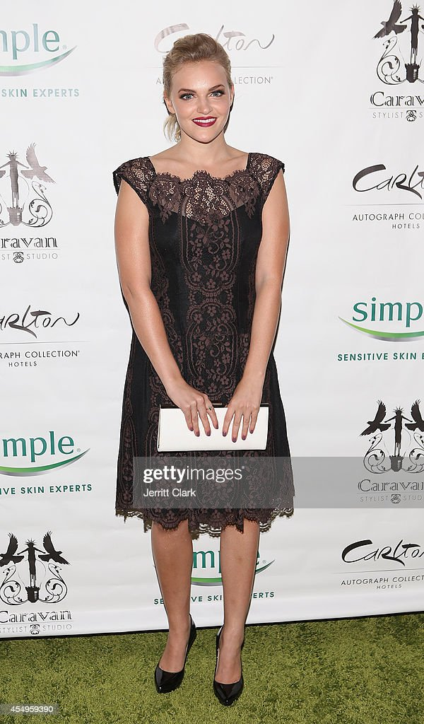 Madeline Brewer attends the Simple Skincare & Caravan Stylist Studio Fashion Week Event on September 7, 2014 in New York City.