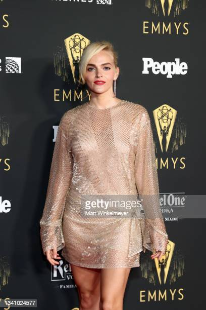 Madeline Brewer attends the Television Academy's Reception to Honor 73rd Emmy Award Nominees at Television Academy on September 17, 2021 in Los...