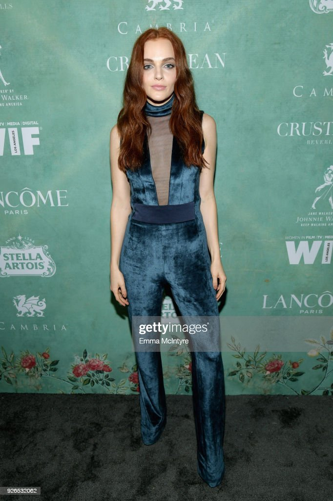 11th Annual Women In Film Pre-Oscar Cocktail Party presented by Max Mara and Lancome with additional support from Crustacean Beverly Hills, Johnnie Walker, Stella Artois and Cambria - Red Carpet : News Photo
