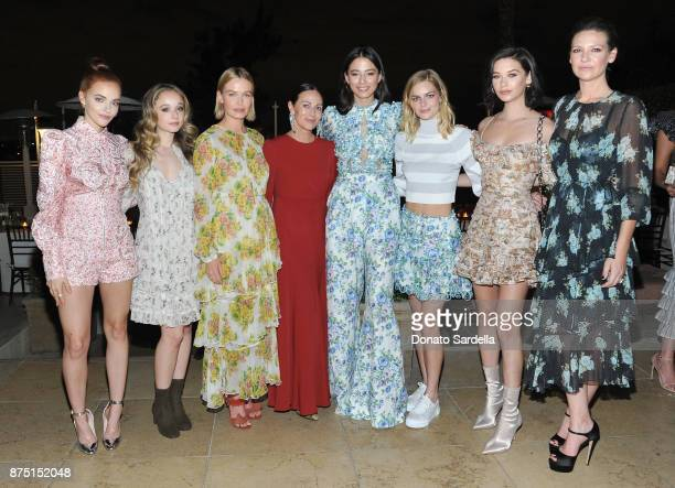 Madeline Brewer Carson Meyer Lara Worthington Zimmermann Founder/designer Nicky Zimmermann Jessica Gomes Samara Weaving Amanda Steele and Anna Torv...