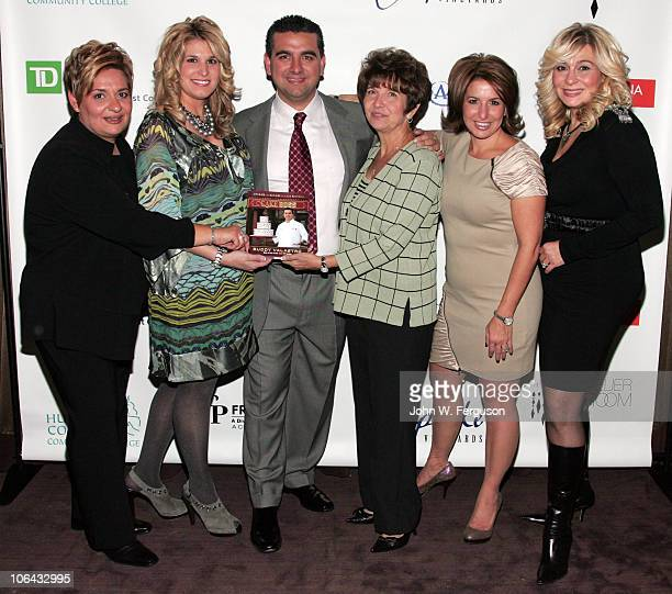 Madeline Castano Lisa Valastro TV personality Buddy Valastro Mary Valastro Grace Faugno Mary Sciarrone attend Cake Boss Buddy Valastro's book launch...