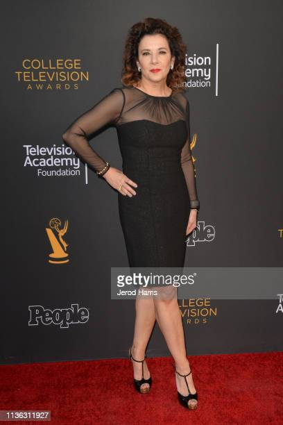 Madeline Di Nonno attends The Television Academy Foundation's 39th College Television Awards at Wolf Theatre on March 16 2019 in North Hollywood...