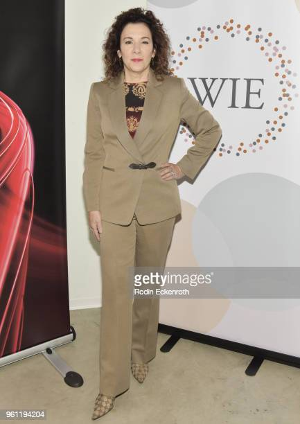 Madeline Di Nonno poses for portrait at the Women in Entertainment and The Television Academy Foundation's Inaugural Women in Television Summit at...