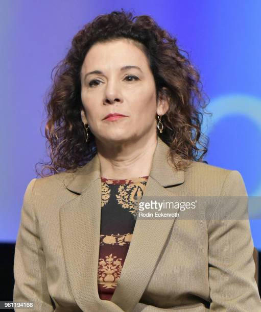 Madeline Di Nonno speaks onstage at the Women in Entertainment and The Television Academy Foundation's Inaugural Women in Television Summit at Saban...