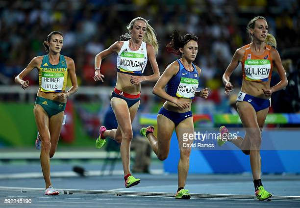 Madeline Heiner Hills of Australia, Eilish Mccolgan of Great Britain, Shelby Houlihan of the United States and Susan Kuijken of the Netherlands...