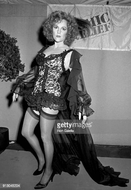 Madeline Kahn attends Comic Relief Benefit on March 29 1986 at the Universal Ampitheater in Universal City California