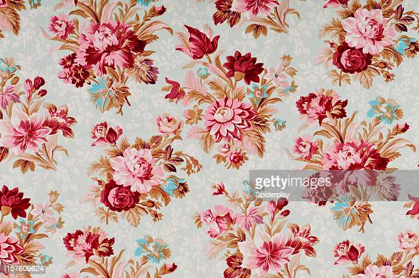Madeline Medium Antique Floral Fabric