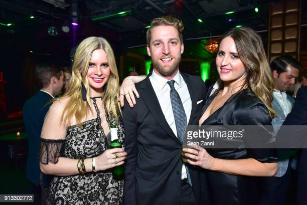Madeline Noal Brett Adams and Kayla Fletcher attend Yellowstone Forever Young Patrons Benefit hosted by Arielle Patrick Jackie Rooney and Alice Ryan...
